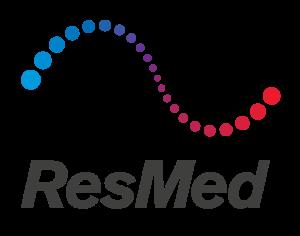 ResMed brand logo