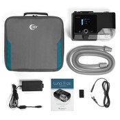 Luna QX CPAP Machine and Supplies
