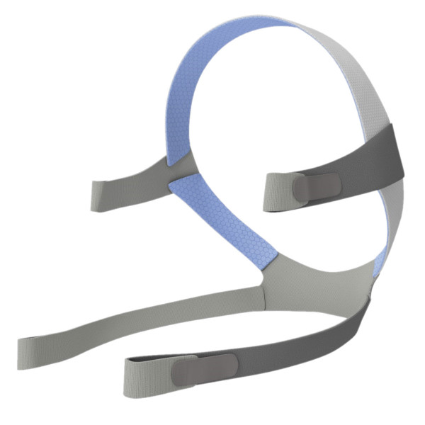 Blue and Gray ResMed Headgear