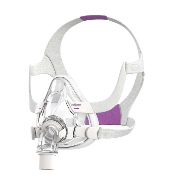 F20 CPAP Mask with Violet Headgear