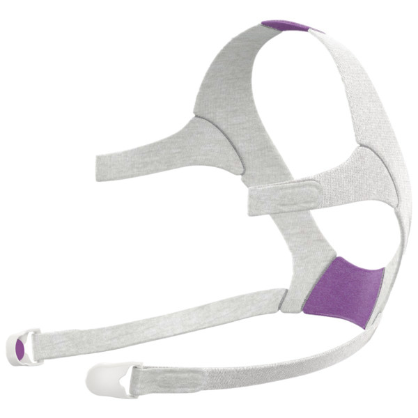 Violet & Gray F20 Headgear Strap