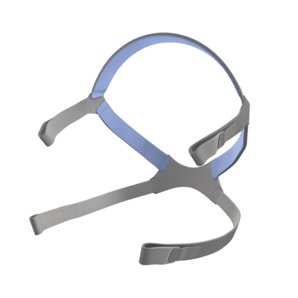 Blue and Grey ResMed Headgear Strap