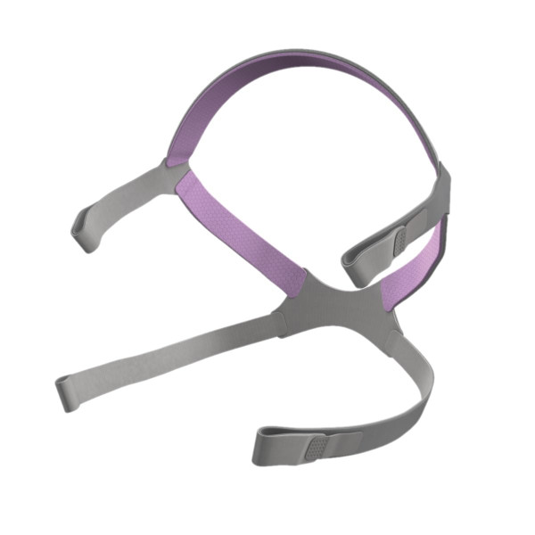 Pink and Grey ResMed Headgear Strap