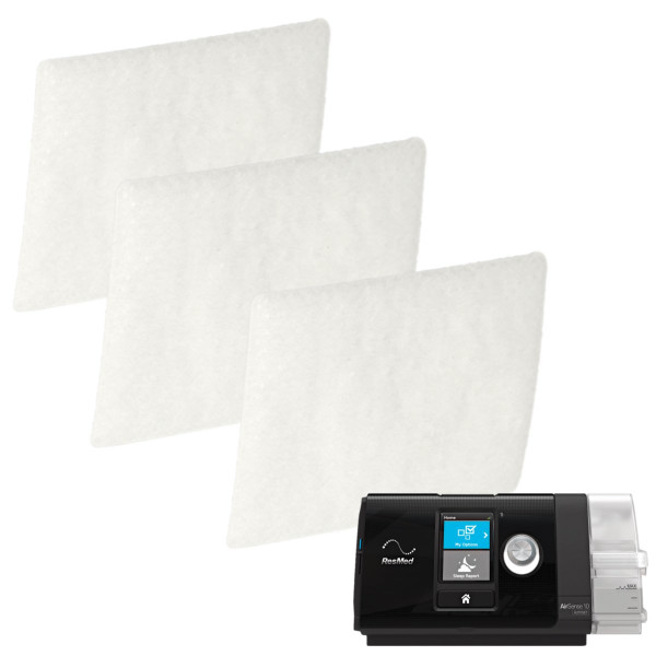 3 Pack Disposable CPAP Filters