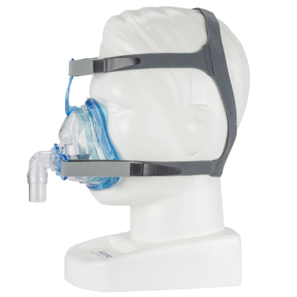 Mannequin Head Wearing Ascend Mask