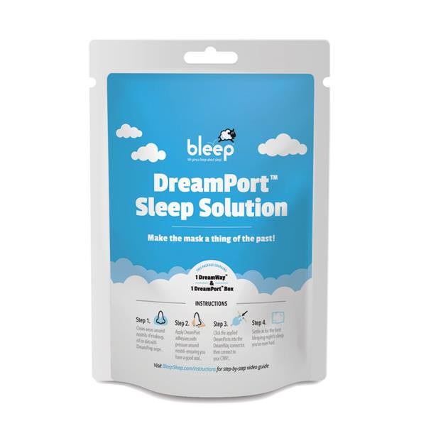 DreamPort Sleep Solution Packaging