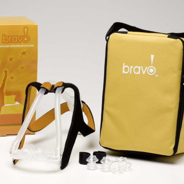 Bravo II CPAP Mask and Carry Case