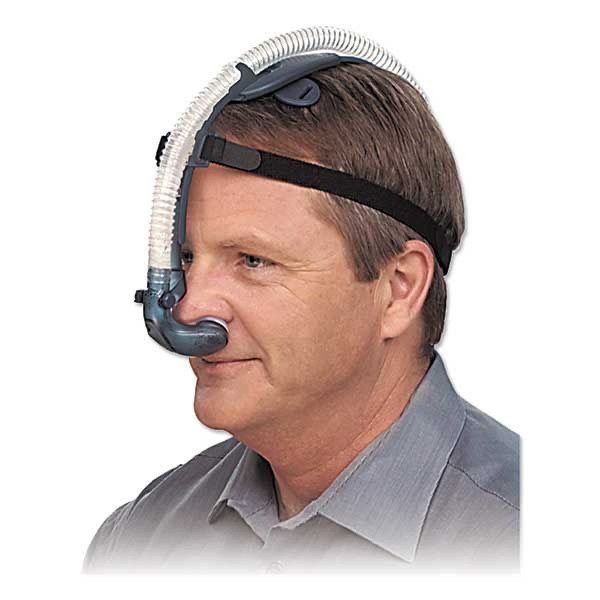 Man Wearing Breeze CPAP Mask
