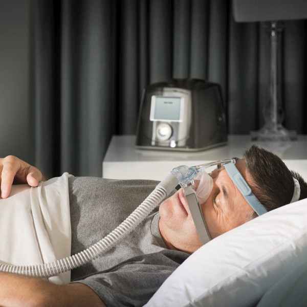 Male Asleep Wearing Eson 2 Mask