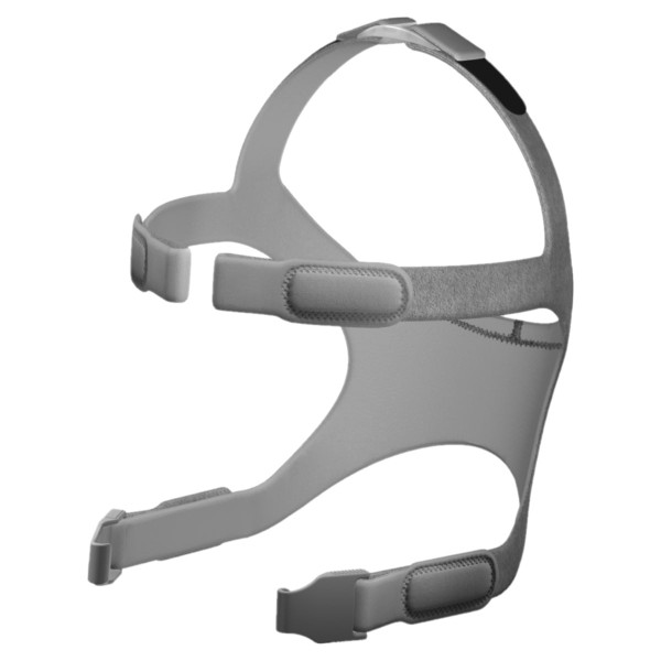 Gray Eson Headgear Strap with Clips