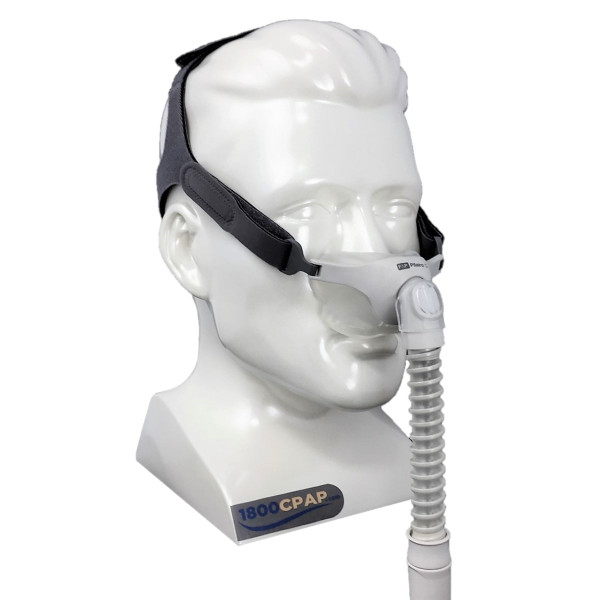 Model Wearing Pilairo Q CPAP Mask