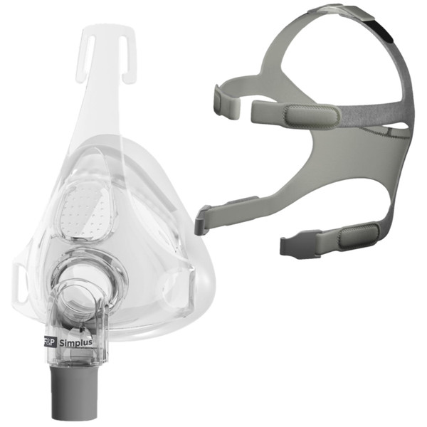 Simplus Headgear Next to Mask Frame