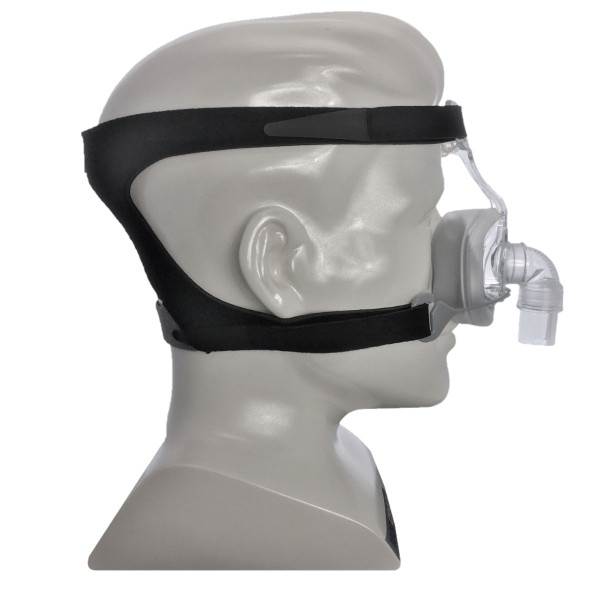 Mannequin Head Wearing 407 Mask