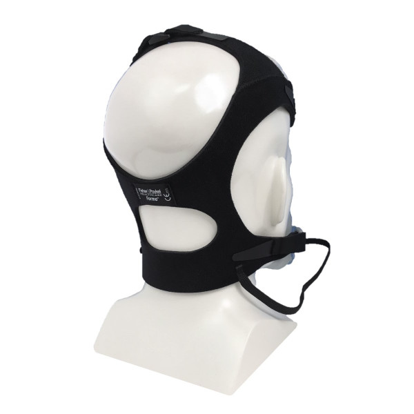 F&P Forma Headgear Strap on Head