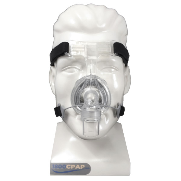 Zest Nasal Mask on Mannequin Head