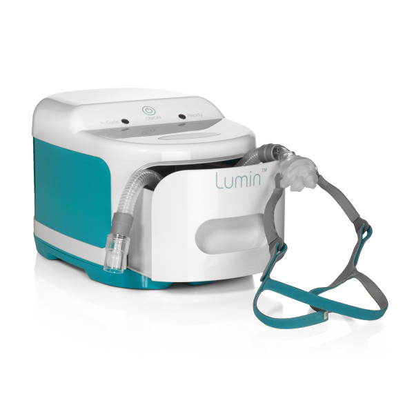 Lumin CPAP Cleaner in Use