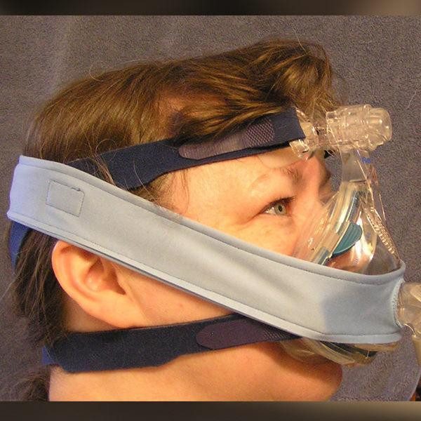 Pad a Cheek Strap for CPAP Leaks