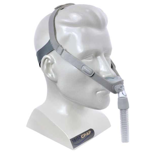Respironics Nuance on Mannequin