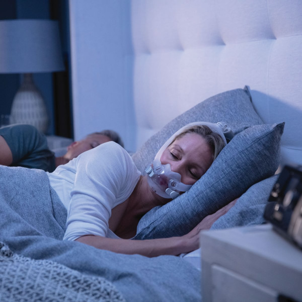 Woman Asleep Wearing F30i Mask