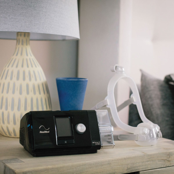 ResMed CPAP Machine next to F30i