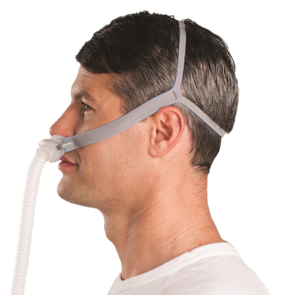 Man Fitting AirFit™ P10 CPAP Mask