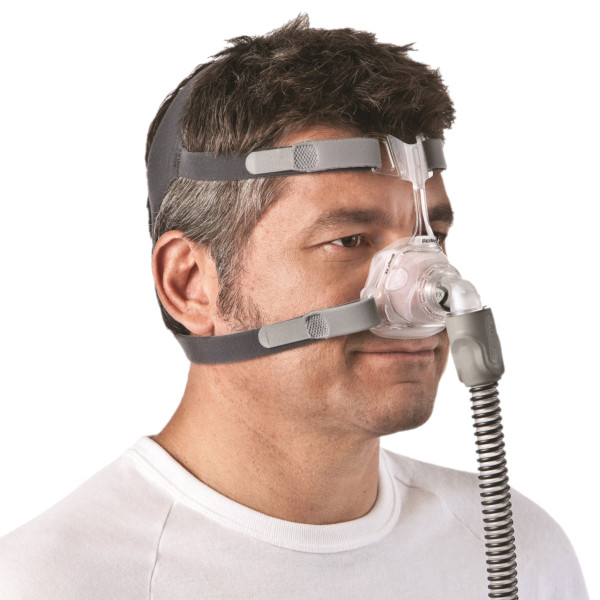 Man Wearing Mirage FX Nasal Mask