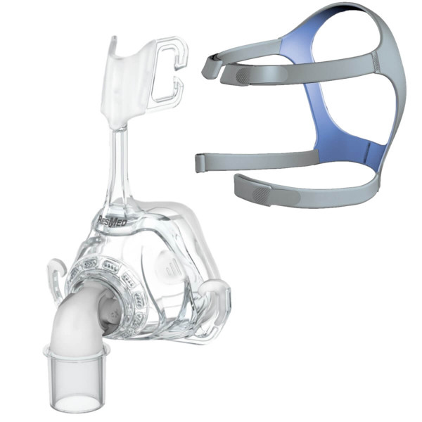Mirage FX Grey Headgear Strap