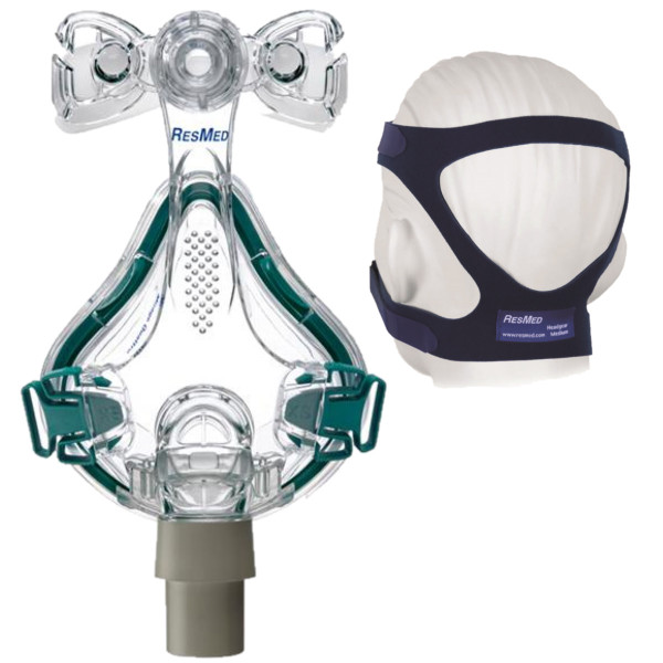 Quattro Mask with Strap Detached