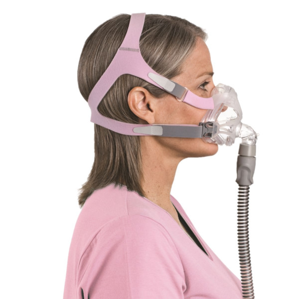 Woman Wearing Quattro Fx Mask
