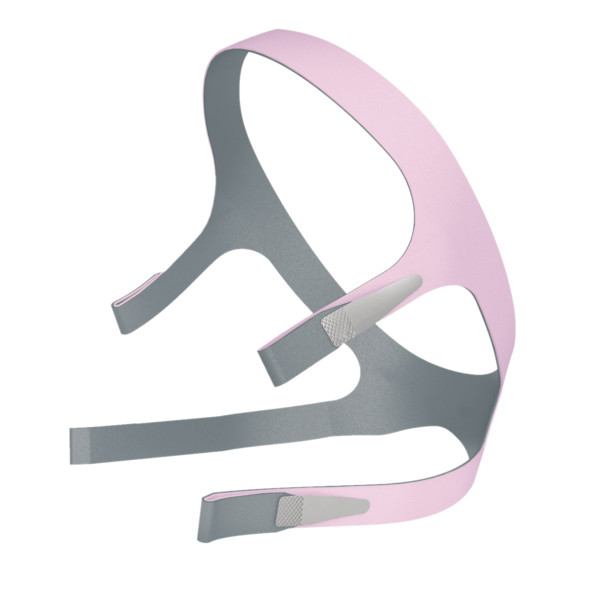 Pink and Gray ResMed Headgear Strap