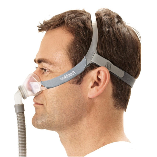 Man Wearing Swift Fx Nano Mask