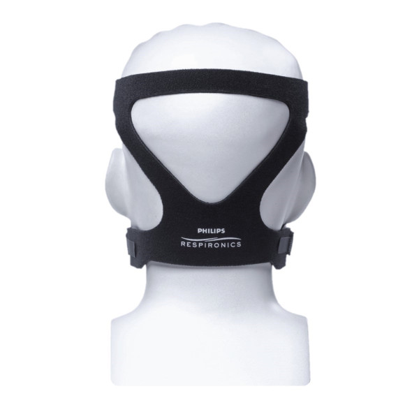 ComfortGel Headgear on Mannequin
