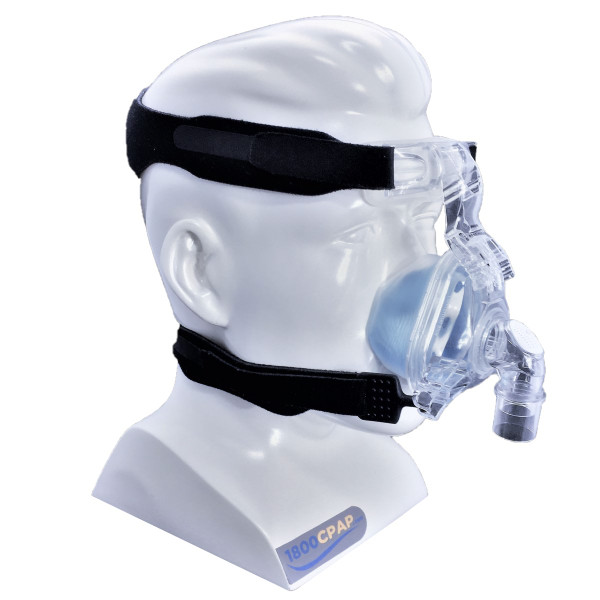 ComfortGel Blue Mask on Mannequin