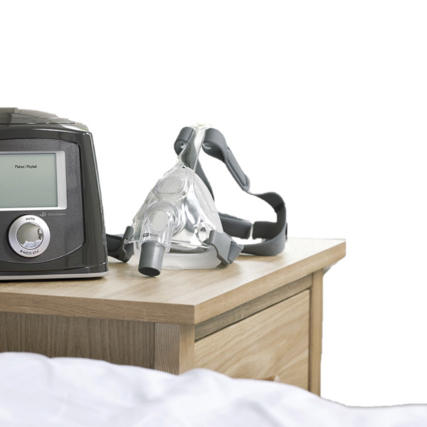 Simplus Mask Next to CPAP Machine