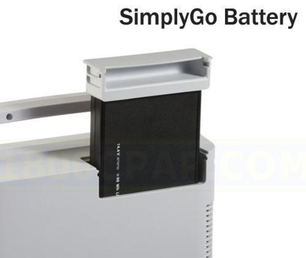 Close-Up View of SimplyGo Battery