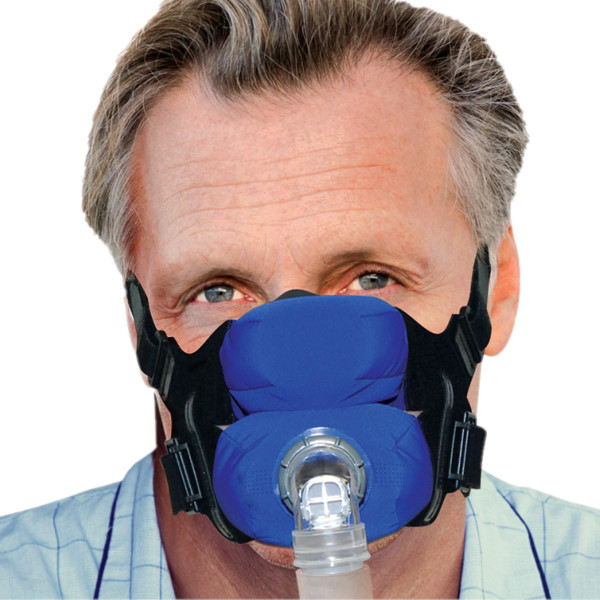 Man Wearing Anew Cloth CPAP Mask