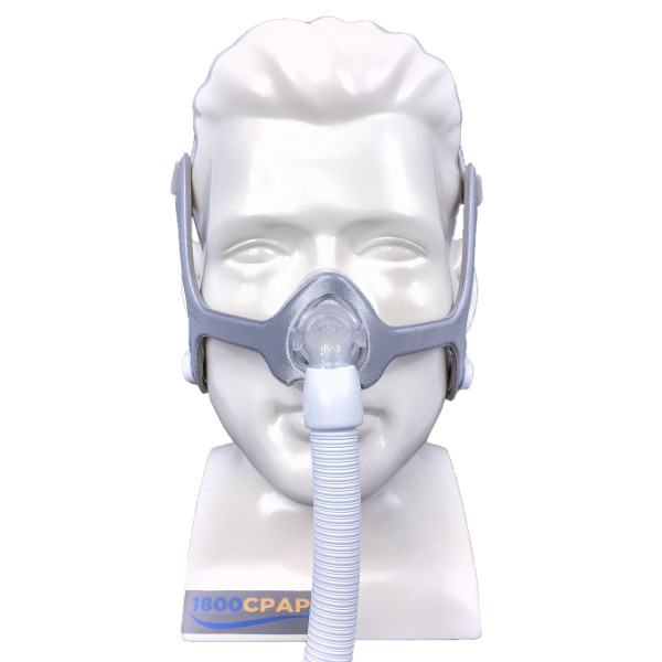 Mannequin Wearing Fabric Wisp Mask